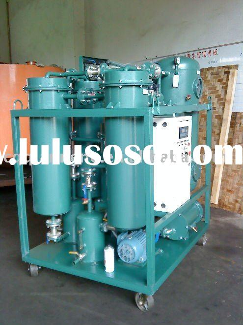 TY lubricant oil purifier/oil recycling machine/oil filter plant
