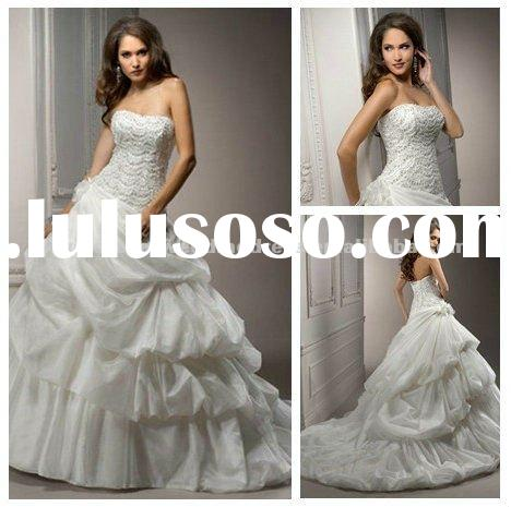 Taffeta Ball Gown Princess Style Wedding Dresses 2011
