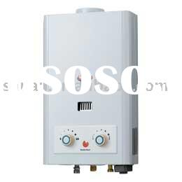 Tankless natural exhaust gas water heater (5~6L)