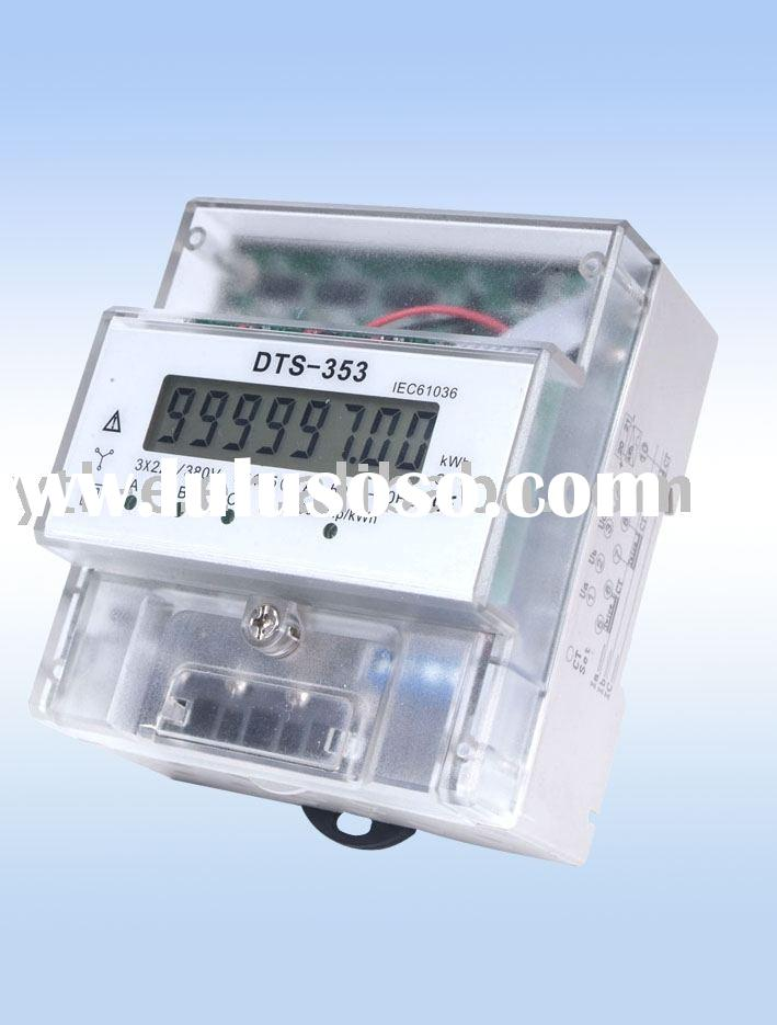 Three Phase DIN-Rail energy Meter