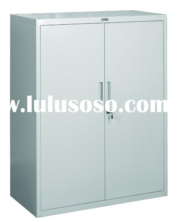 Two Doors Steel filing cabinet with lock