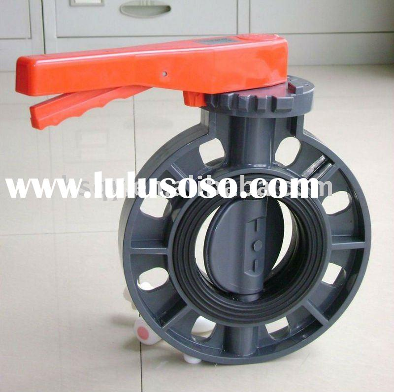 UPVC Butterfly Valve PVC Pipe Fitting