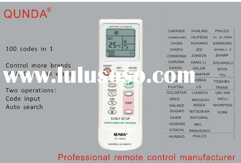 Universal Air Conditioner Remote Control Manual Universal Air