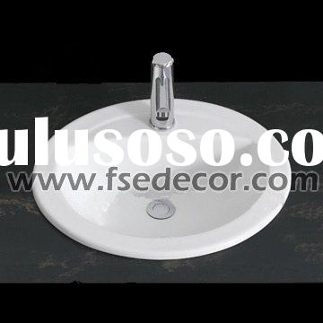 White Porcelain Wash Basin