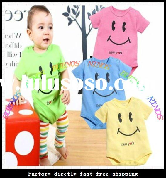 Wholesale - 2012 New Fashion Cotton Baby Sets Products Baby Clothes Set infant Clothes Sets Baby Wea