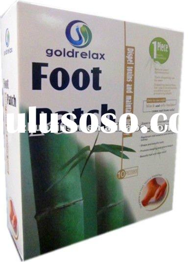 Wood Vinegar Foot Patch(bamboo vinegar foot pads)