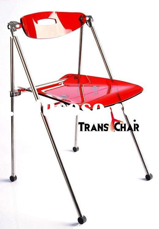 *AC006-F*-Folding Chair/Acrylic Folding Chair
