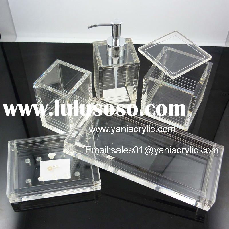 bathroom accessories acrylic bathroom accessories manufacturers