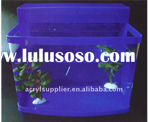 acrylic fish tank in home and garden of arowana fish