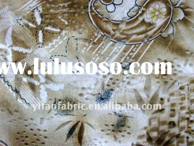african wax prints velvet fabric for sofa cover