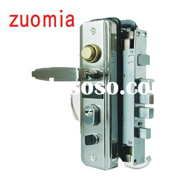 aluminum sliding glass door lock cabinet swing handle lock hand brake gear lock