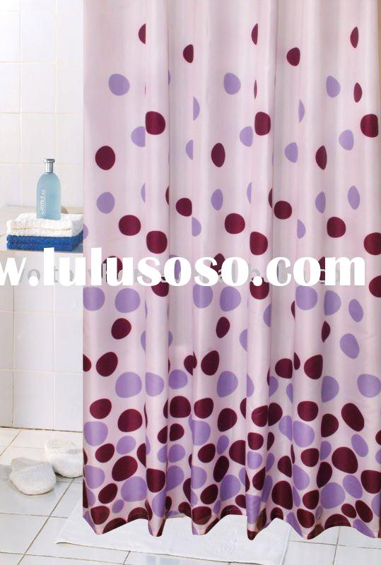 Burnt Orange Sheer Curtains Wolf Shower Curtain Set