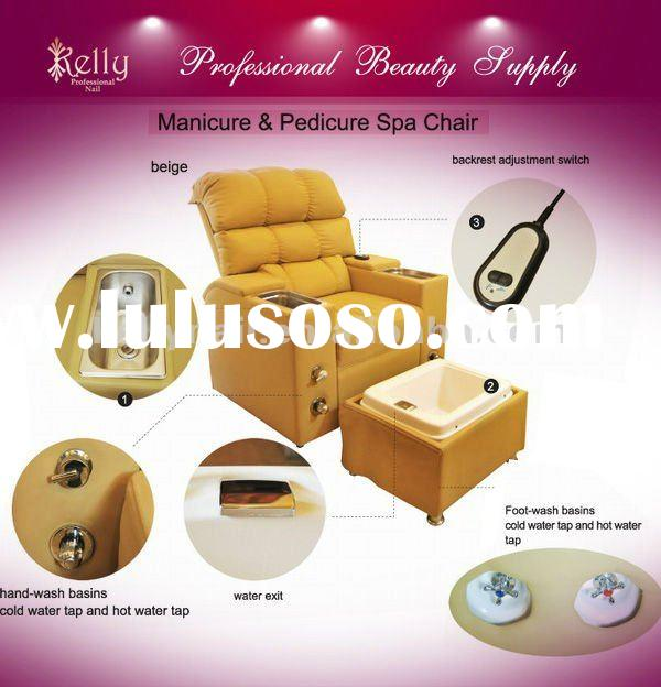 beauty salon manicure and pedicure chair