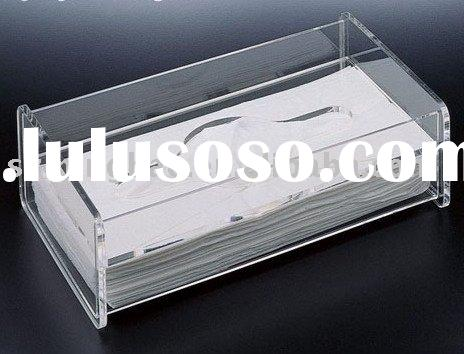 clear acrylic tissue boxes,napkin holder