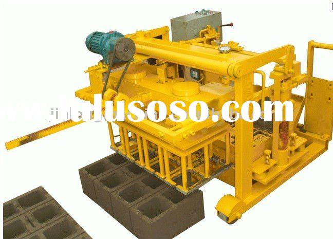 concrete block making machine Manual QTJ4-45