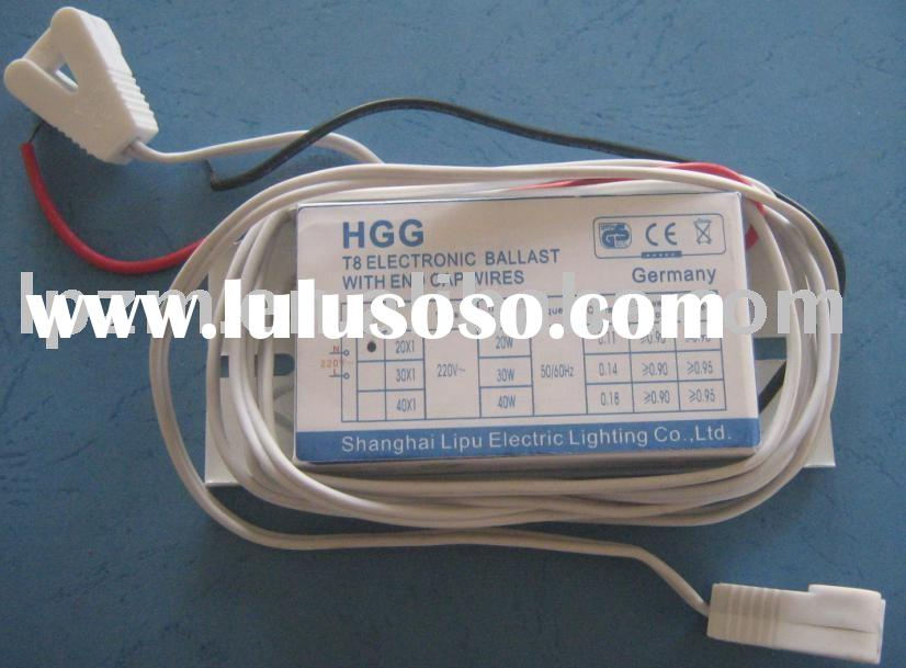 electronic ballast for T8 fluorescent lamp