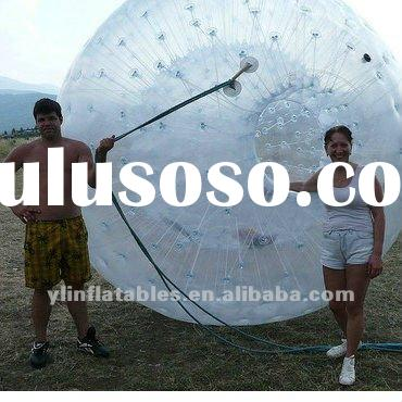 exciting 1.0mmpvc grass zorb /rolling ball