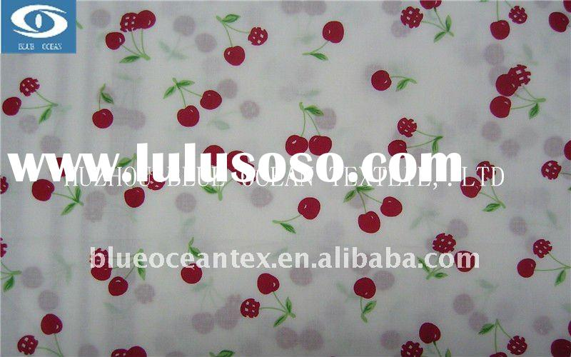 fish print cotton fabric for children clothing