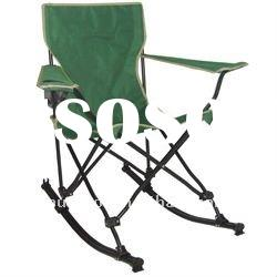 Folding Rocking Beach Chair With Armrest