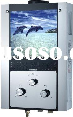 gas water heater with Glass panel