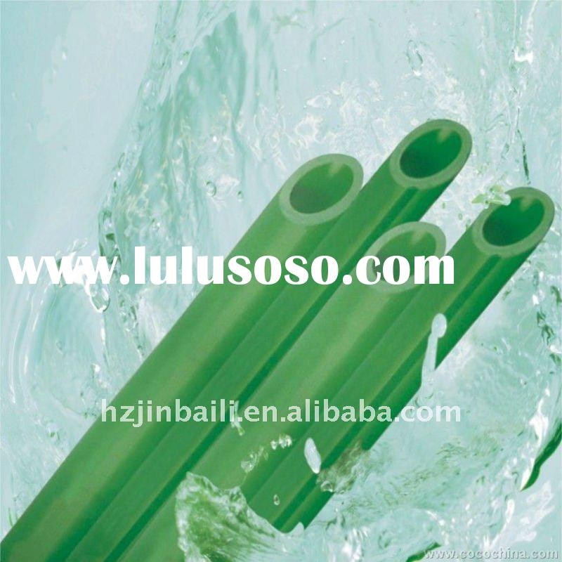 green PN25 water supply PPR Pipe for radiator system