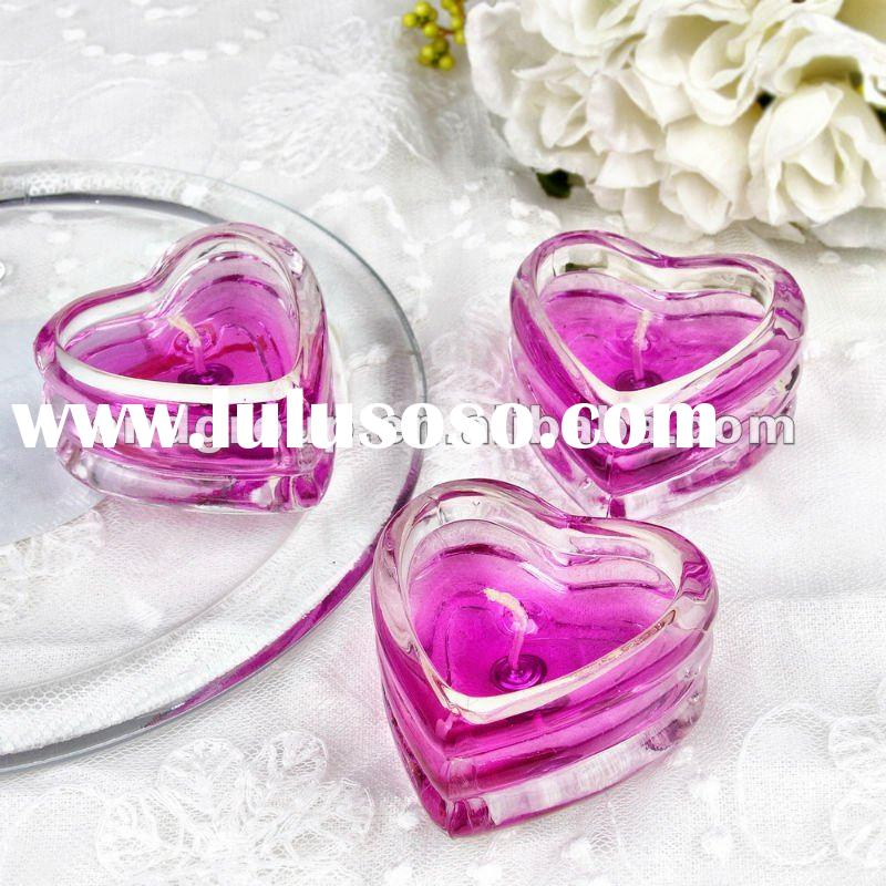 heart shaped glass candle holder cup/glass tea light candle holder/votive glass candle holder