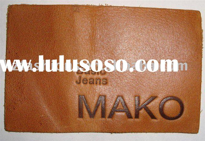 kz60022 real Leather Label