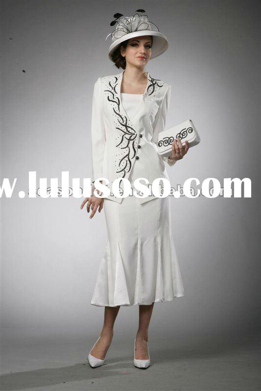 ladies suits factory,Elegant and Glamorous church suits