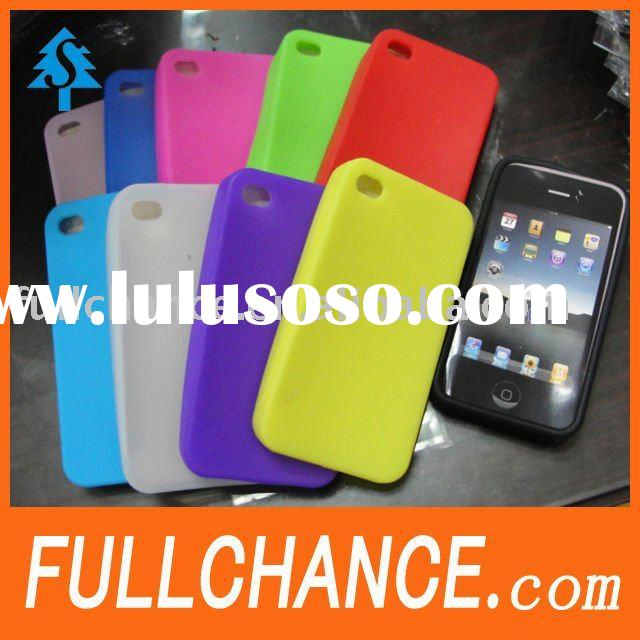 latest silicone cover skin case for iphone 4g
