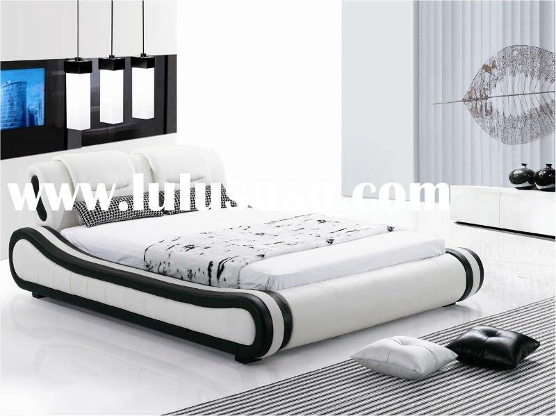 leather king bed size