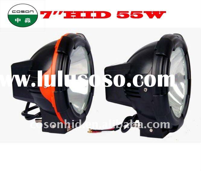 led work light, 4wd driving light, truck light, 55w xenon hid spot light