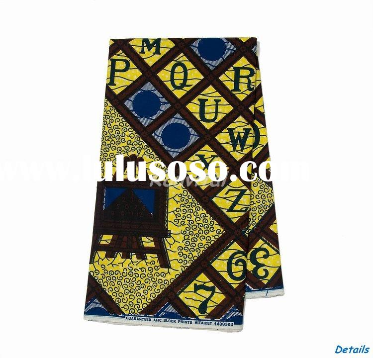 low price guaranteed wholesale fashion african veritable cotton holland wax fish print fabric 053p