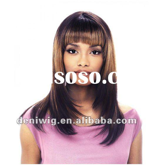mixed color front lace wigs fashion