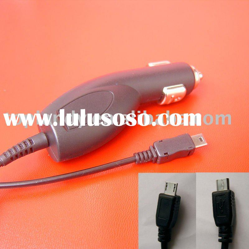 mobile phone car charger with micro usb