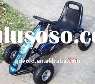 new happy cuit pedal go kart with animal on the steeling wheel