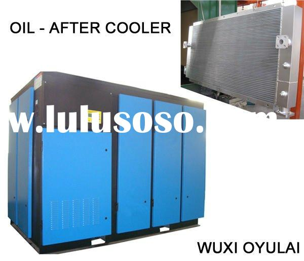 oil cooler for screw compressor( Aluminum Plate fin heat exchanger)bar and plate intercooler/Aluminu