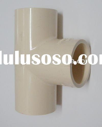 pvc pipe fittings (ASTM2846) cpvc fittings cpvc Tee