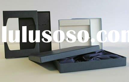 pvc window decorative cardboard boxes with insert