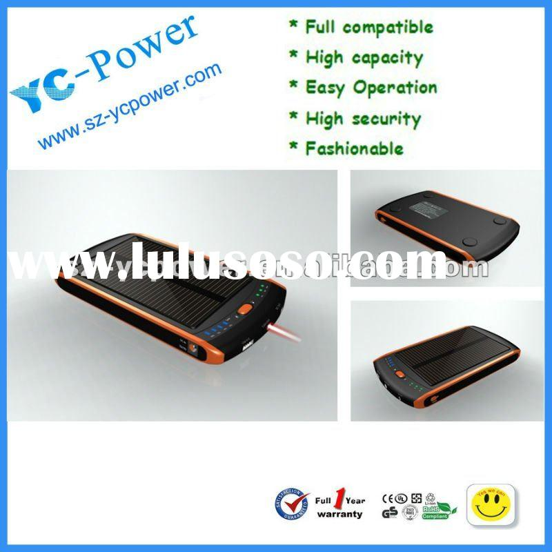solar battery charger for laptop,23000mAh charger for Mobile phone,solar laptop battery charger