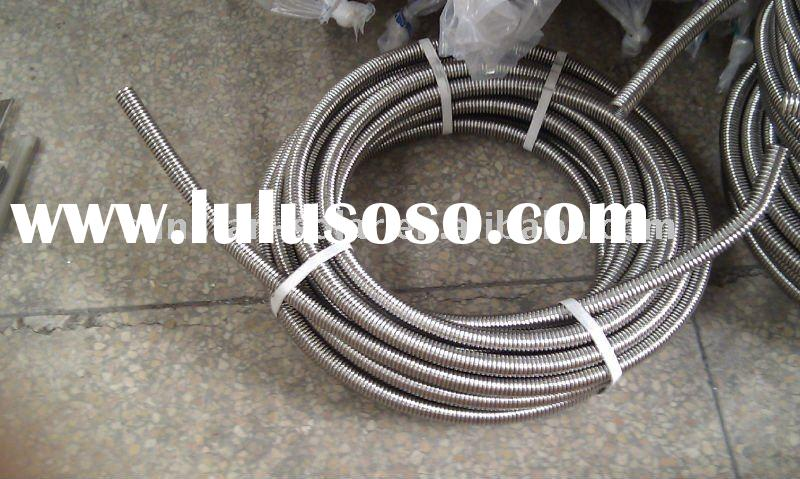 stainless steel flexible tube for solar water heater installation
