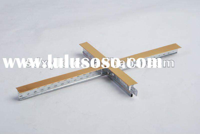 suspended ceiling t bar with PVC gypsum board