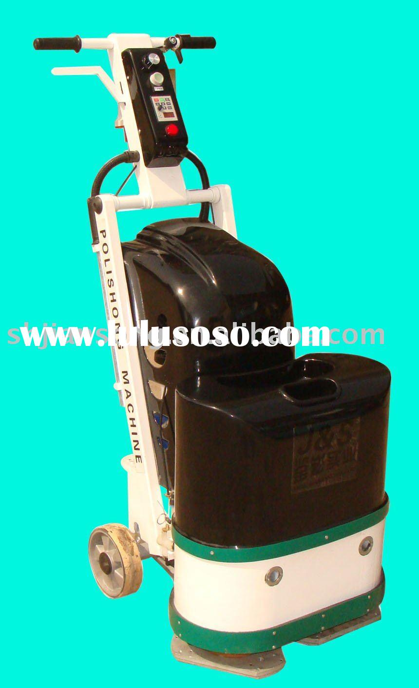 two-head concrete and marble and stone grinder and polisher machine