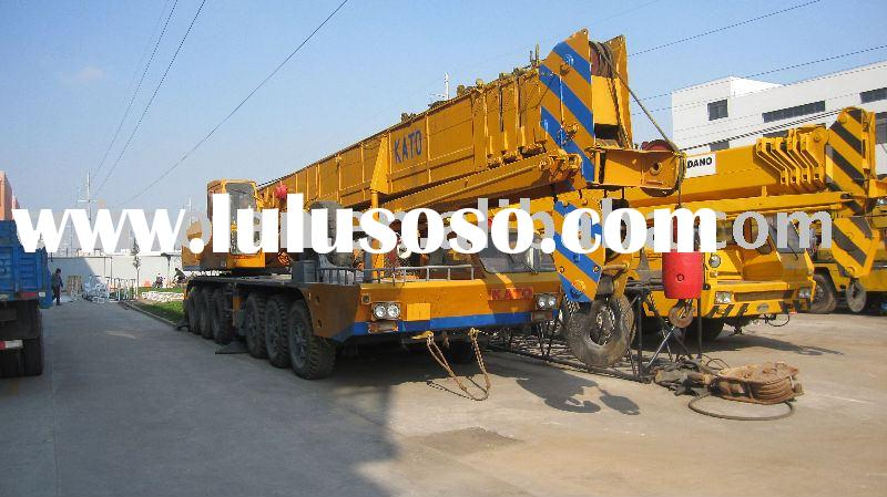 used construction machinery KATO 20t-100t(used construction machinery mobile crane japan used truck