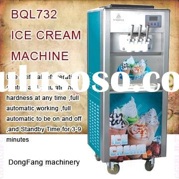 used soft serve ice cream machine BQL732 icecream making machine
