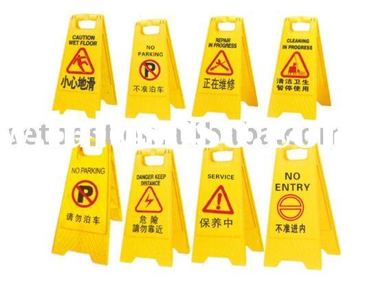 wet floor sign floor sign caution sign plastic floor sign plastic road floor signroad sign