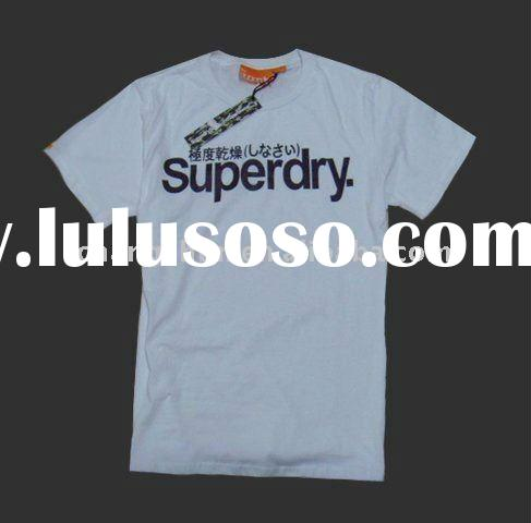 wholesale fashion superdry cotton t-shirts