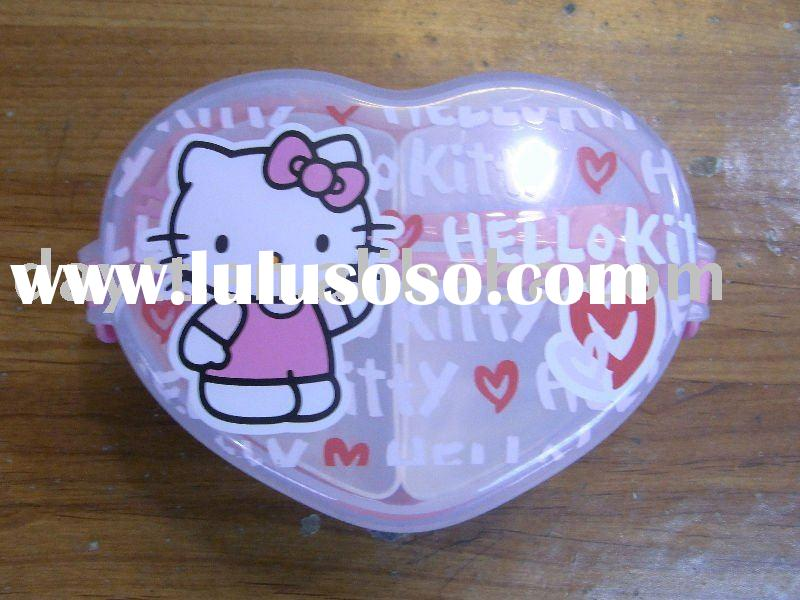 wholesale hello kitty lunch box storage boxes &bin mix order & drop shipping c4217