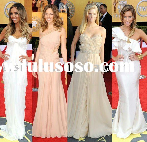 Designer Dresses Red Carpet 2011 Red Carpet Evening Dress