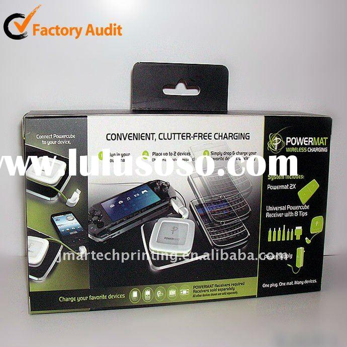 2011 beautiful packaging paper box for electronic product
