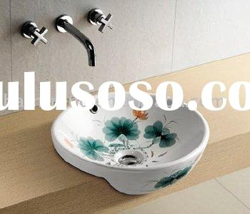 2011 fashion modern elelgant bathroom Counter wash Basin sink